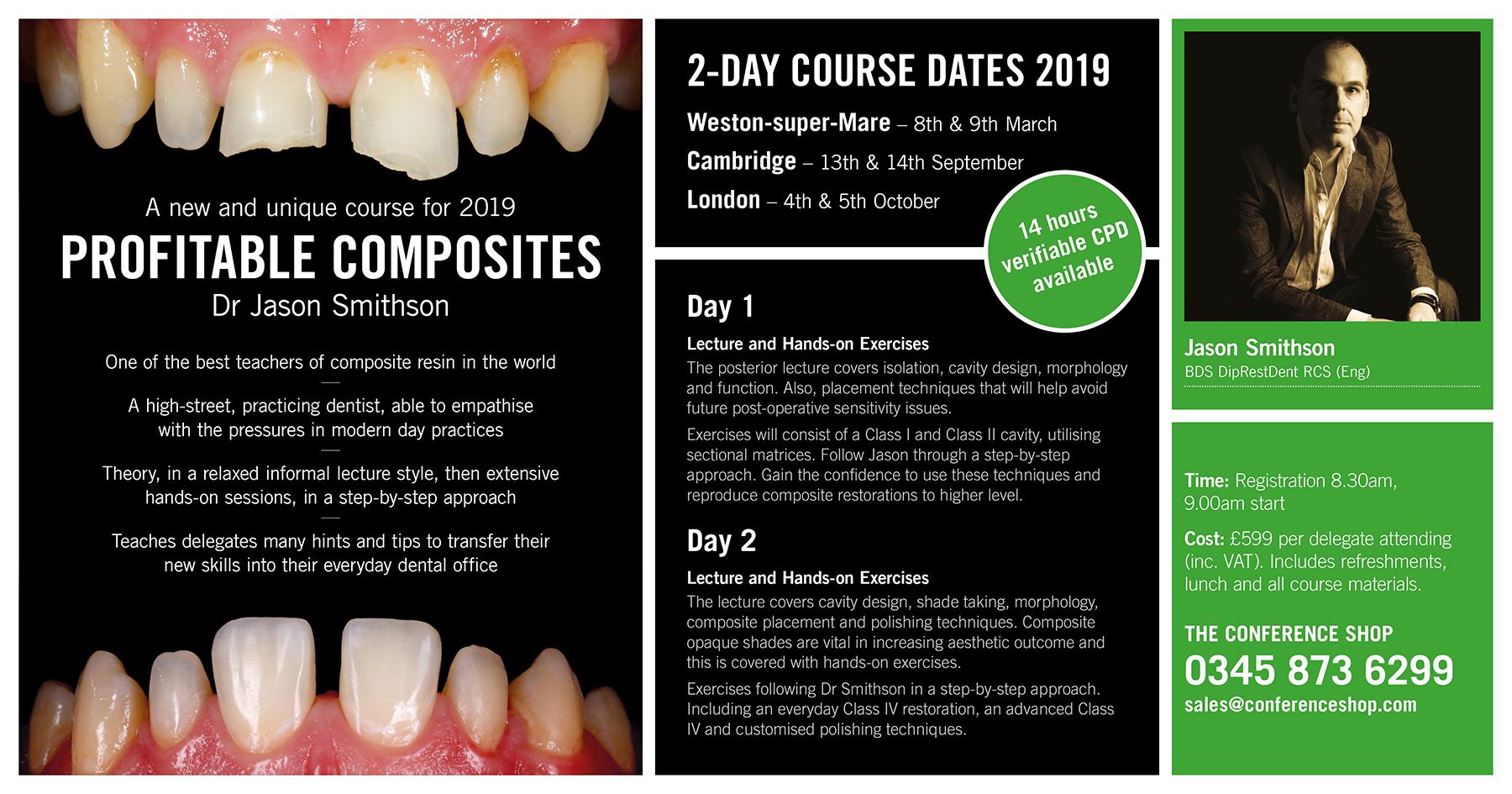 Profitable Composites with Dr Jason Smithson